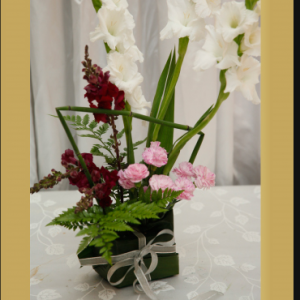 ערכת מתנה בפרחים חיים