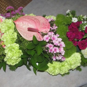 רנר של פרחים 1