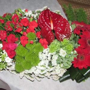 רנר של פרחים 2